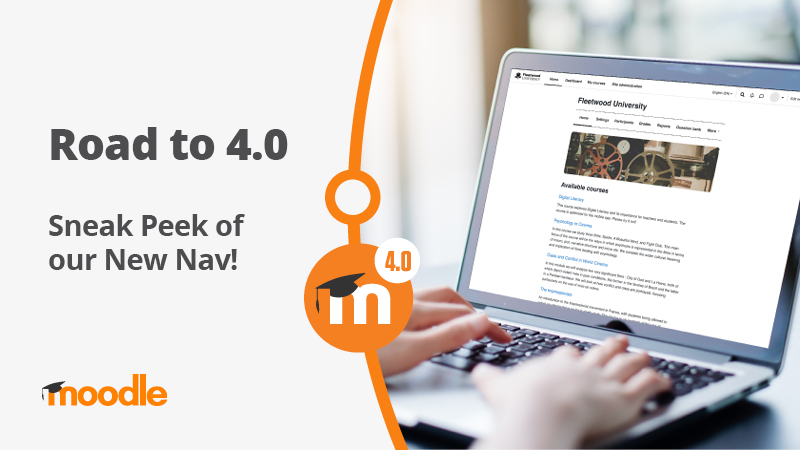 , The Road to Moodle 4.0 – Sneak Peek of our New Nav! – Source Moodle Community News, iBSC Technologies - learning management services, LMS, Wordpress, CMS, Moodle, IT, Email, Web Hosting, Cloud Server,Cloud Computing