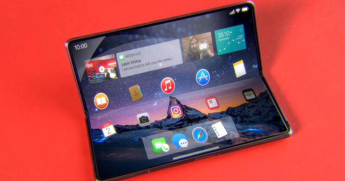 , Apple's foldable may be coming later than expected – Video – Source CNET Tech, iBSC Technologies - learning management services, LMS, Wordpress, CMS, Moodle, IT, Email, Web Hosting, Cloud Server,Cloud Computing