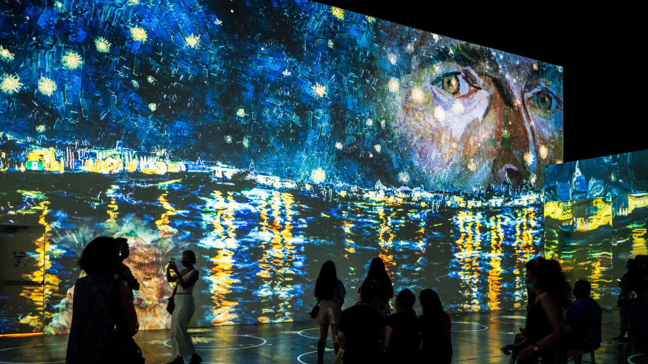 , 'Immersive Van Gogh' in San Francisco: a stunning exhibit – Source fastcompany.com, iBSC Technologies - learning management services, LMS, Wordpress, CMS, Moodle, IT, Email, Web Hosting, Cloud Server,Cloud Computing